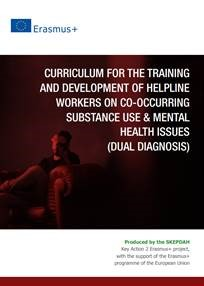 Imagem de capa de publicação Curriculum for Helpline Workers on Co-occurring Substance Use & Mental Health Issues